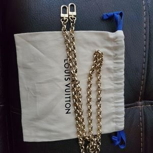 Authentic Louis Vuitton purse chain